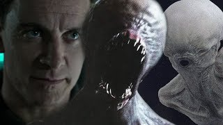 DAVID MEETS THE NEOMORPH - ALIEN: COVENANT SCENE - WAS DAVID CONTROLLING THE NEOMORPH?