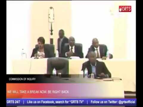 Gambia GT Bank MD Testifies At The Commission Of Enquiry