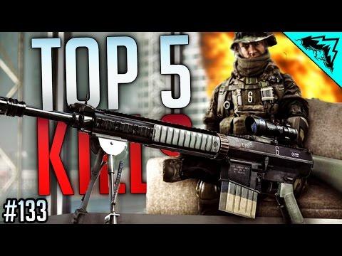 TOP 5 Battlefield 4 Craziest Kills (Explosive Arrow, Sniping Noscope , Jeep Stuff, SRAW) WBCW #133
