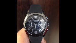 how to replace a battery in emporio armani ceramik