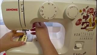 швейная машина janome 510, обзор