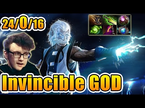 Miracle- Dota 2 [Zeus] Ranked Match - INVINCIBLE GOD