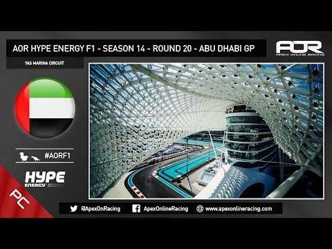 F1 2017 - AOR PC F1 - Season 14 - Round 20 - Abu Dhabi GP