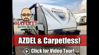 Used 2017 Freedom Express 192RBS Azdel Ultralite Carpetless Small Couple's Travel Trailer