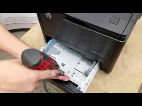 HP LaserJet Pro 400 M401 M425 Fuser & Maintenance Kit Replacement Instructions RM1-8808-MK