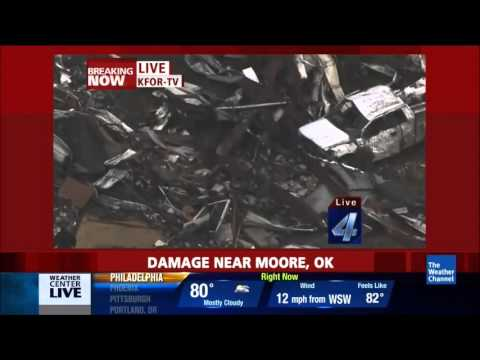 The Weather Channel's Coverage of the Moore, OK Tornado 1 of 3 (5.20.2013)