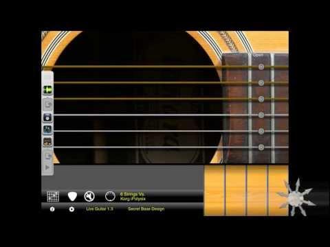 Live Guitar Vs. Korg iPolysix