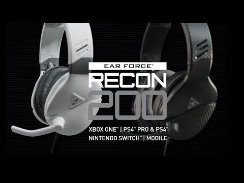 Turtle Beach Recon 200 Gaming Headset for Xbox One, PS4, and Switch