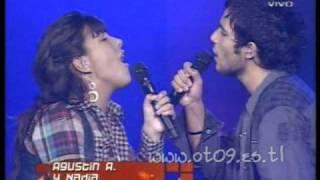 Operacion Triunfo 2009: Gala 2: Agustín A y Nadia A puro dolor
