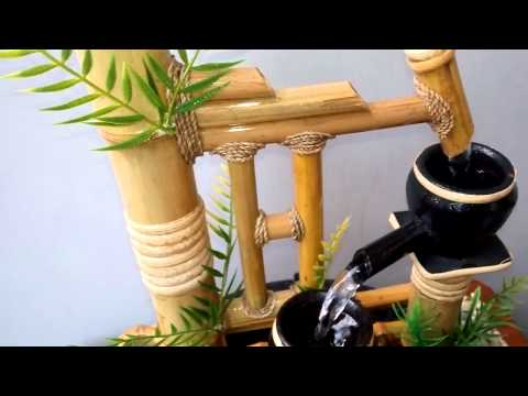 Miniatur Air Mancur Bambu Cendani - Gunungsaren