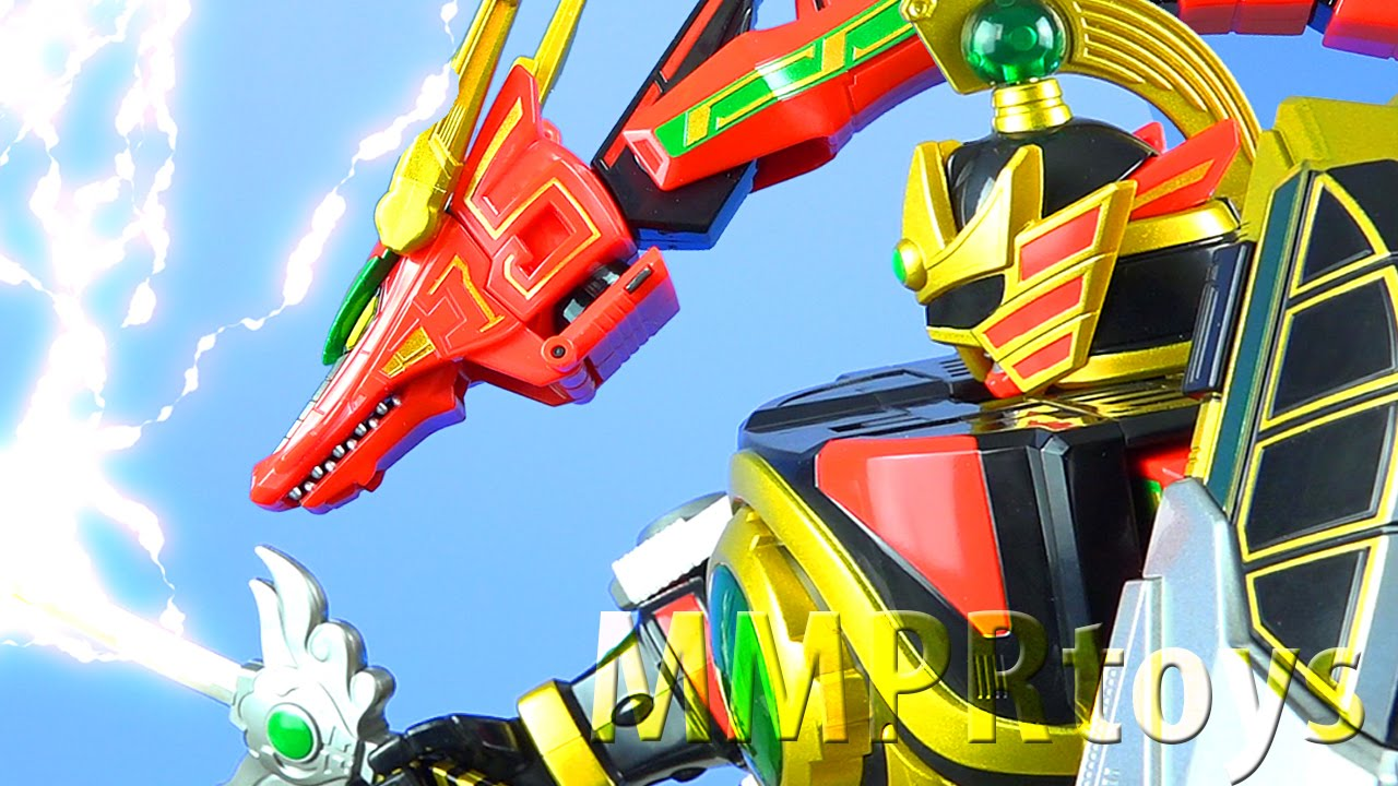 Toy Review Tuesday: Legacy Thunder Megazord from Mighty ...