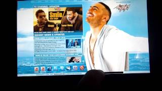 TamerHosny.WS app on the BlackBerry PlayBook