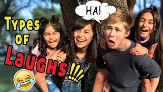 TYPES OF LAUGHS WITH GEM SISTERS!! COMEDY SKIT: CASEY SIMPSON