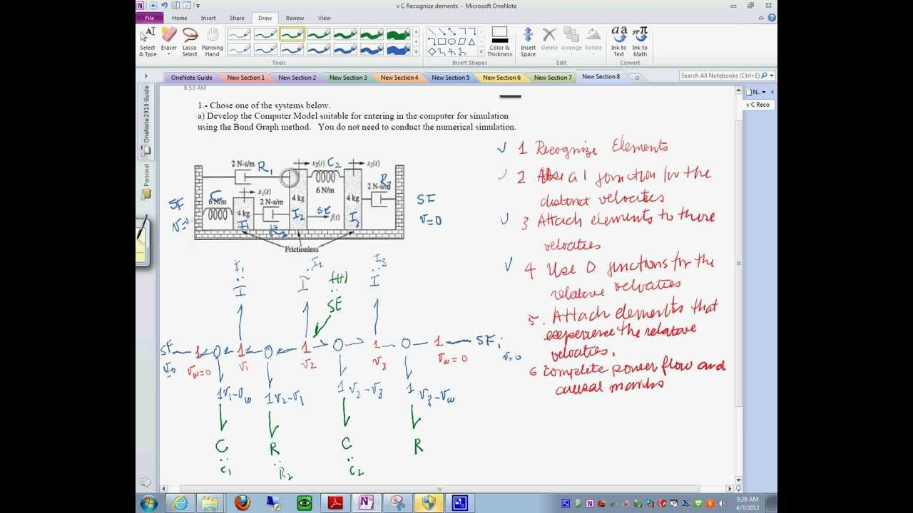 Mechanical Systems Modeling Procedure Part 1