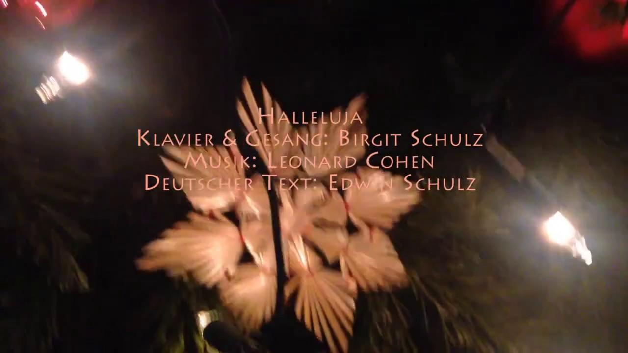 Halleluja von L. Cohen als Weihnachtsversion in deutsch - YouTube
