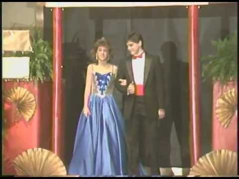 1987 Hillcrest Junior High School Beauty Pageant, Tuscaloosa, AL