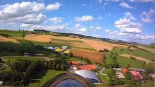 Modellflug über den Hegau Campingplatz