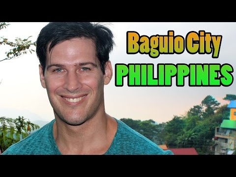 I left Manila, Philippines for Baguio City