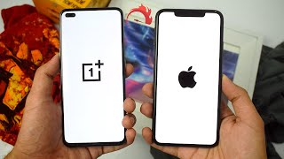 OnePlus Nord vs iPhone 11 Pro Max - SPEED TEST