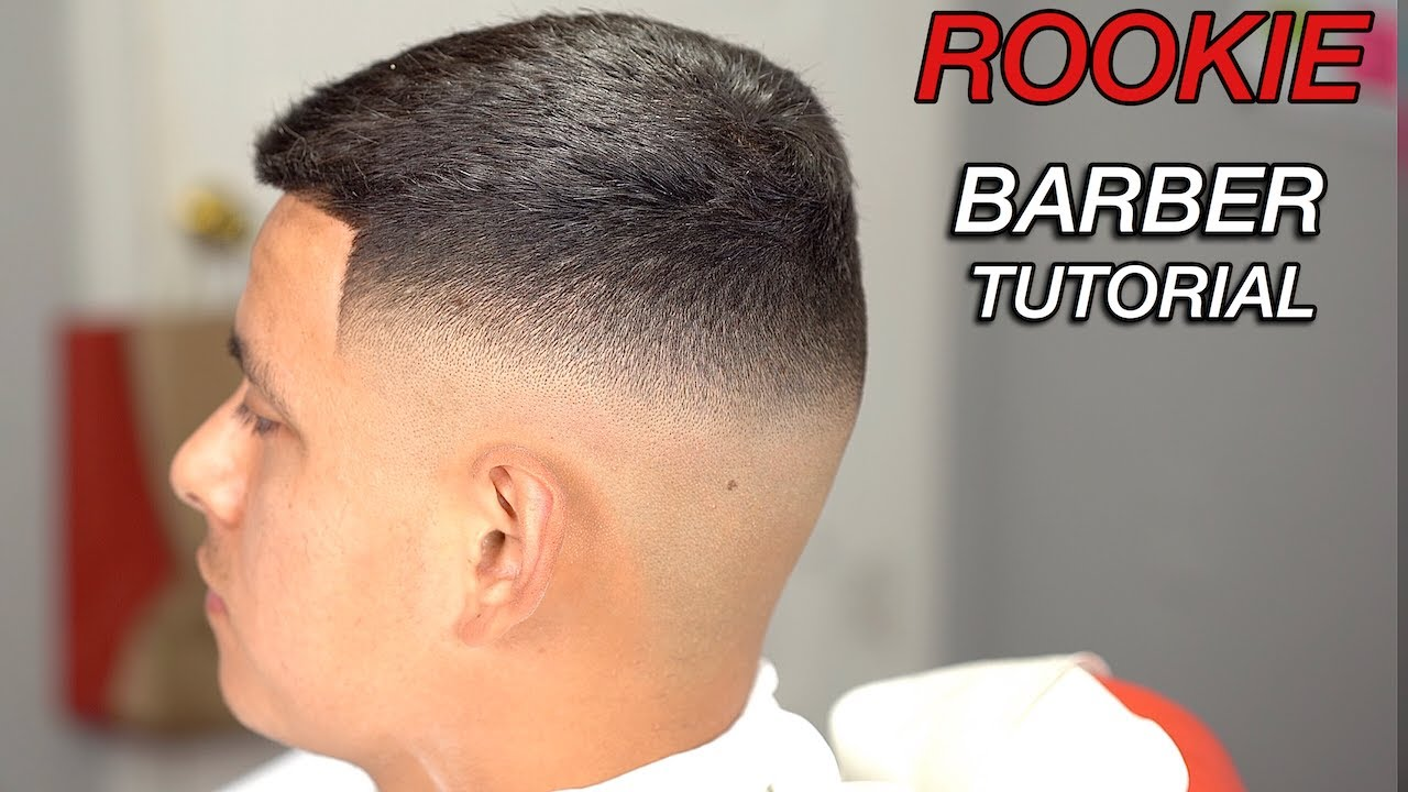 Rookie Barber Tutorial Step By Step Mid High Fade Haircut Tutorial For Beginning Barbers Youtube