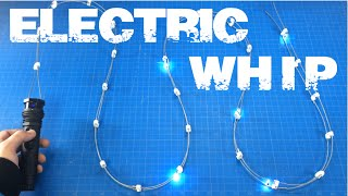 REAL Electric Whip 6 Million Volt  / Plasma Whip Ratchet and Clank / Ironman 2