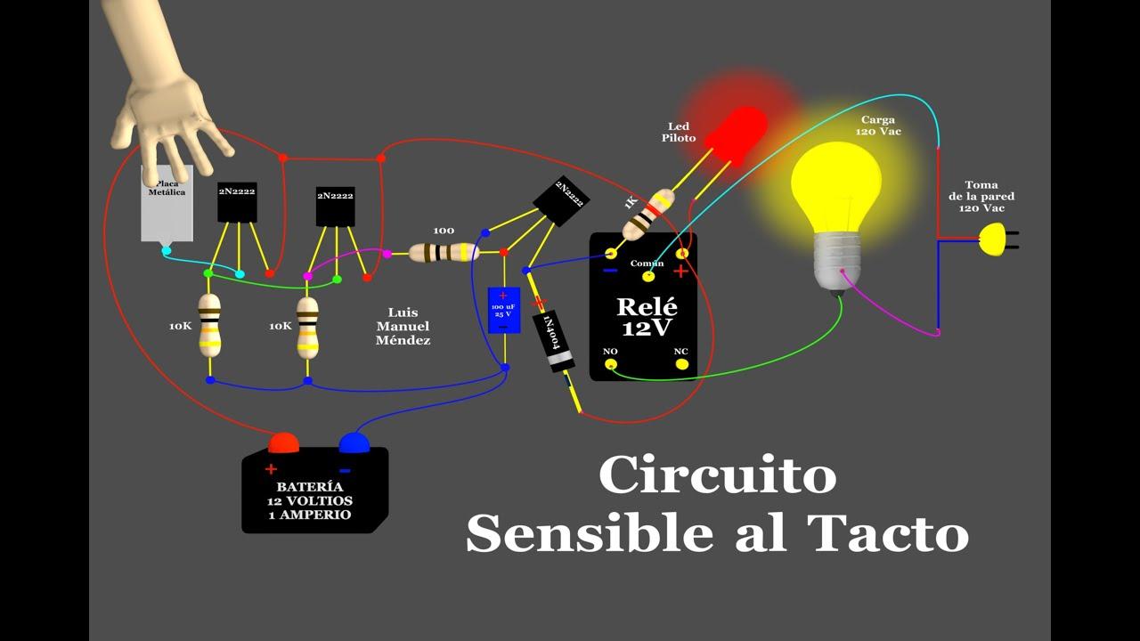 Circuito Sensible Al Tacto Animaci 243 N Youtube
