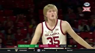 Oklahoma vs. North Texas Men's Basketball Highlights
