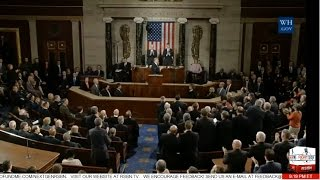 Repeat youtube video Full Event: President Donald Trump Speech to Congress - 2/28/2017