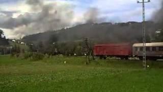 Pociąg retro osobowy: Rabka Zaryte - Limanowa - Chabówka