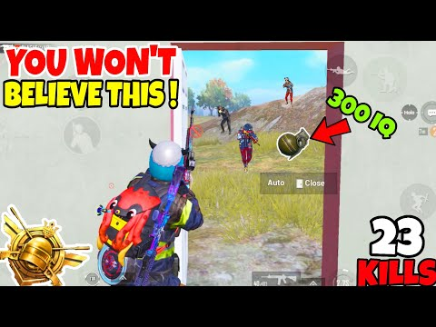 You Won't Believe How I Survived This Dangerous Nade In PUBG Mobile • (23 KILLS) • PUBGM (HINDI)