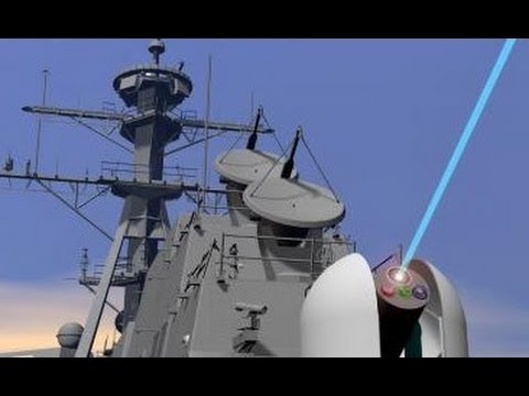 U.S. Laser Canons, New Anti Air Defense, Star Wars, Real, New Weapon