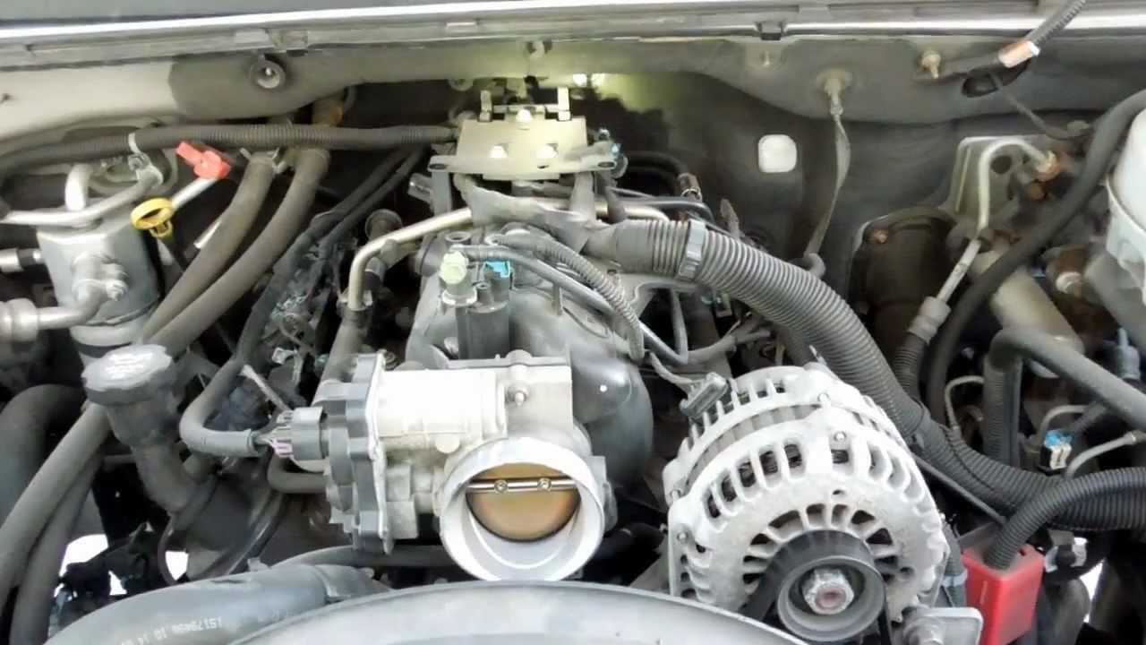 2004 GMC Yukon XL 1500 53L Manifold Absolute Pressure MAP Sensor Location  YouTube