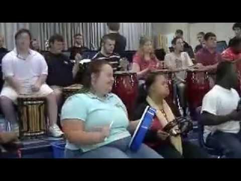 PVCG Handbell Choir and Sidney Lanier Center Siyahamba performance