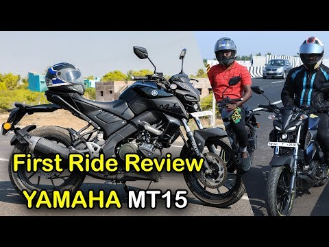 Yamaha MT15 First Ride Review | Tamil | Vahanam