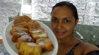 Rabanada Tradicional com Pão Francês