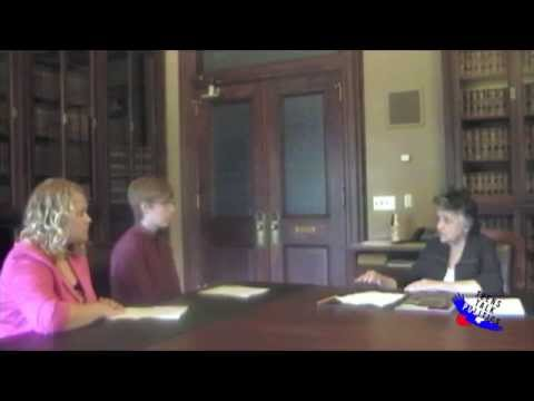 Teens Talk Politics - Interview with Justice Abrahamson