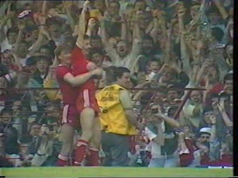Liverpool 3 Everton 1 25/04/1987