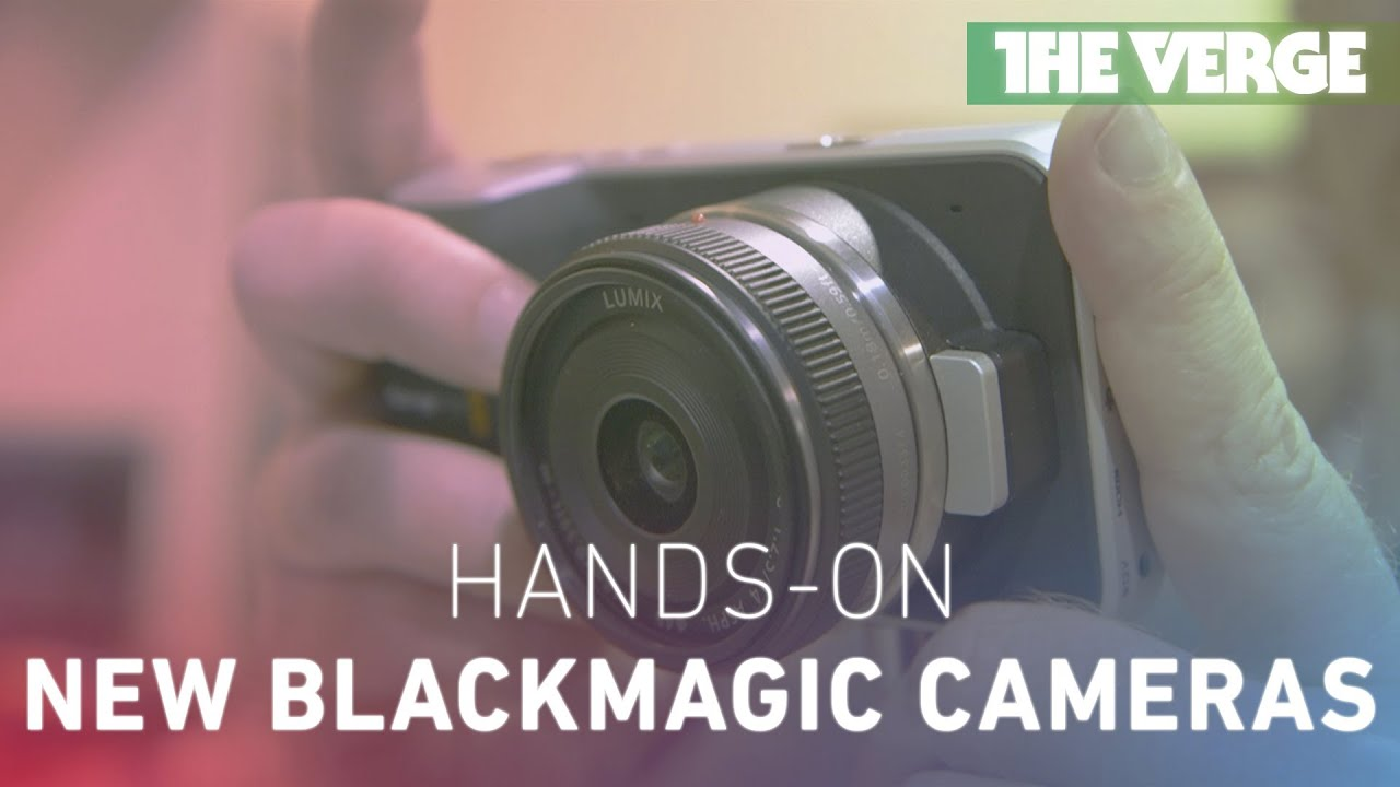 NAB 2013: Blackmagic Design Production Camera 4K and Pocket Cinema Camera