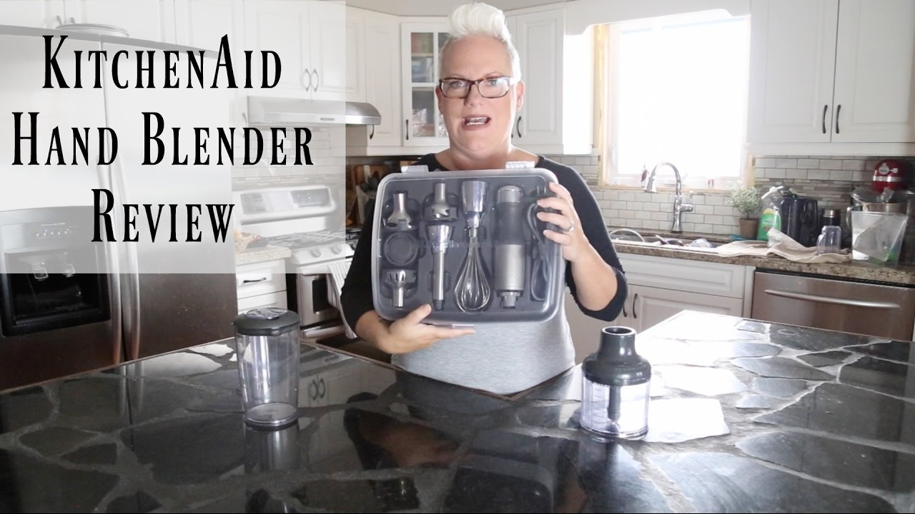 Kitchenaid Architect Series Hand Blender kitchenaid 5 speed hand blender review - youtube