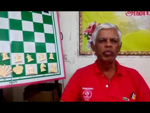 Tournament director R. Anantharam before the Chennai Open 2017