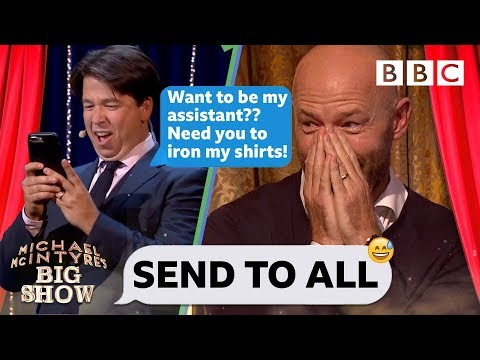 Send To All with Alan Shearer - Michael McIntyre's Big Show: Episode 3 - BBC One