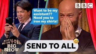 Send To All with Alan Shearer - Michael McIntyre