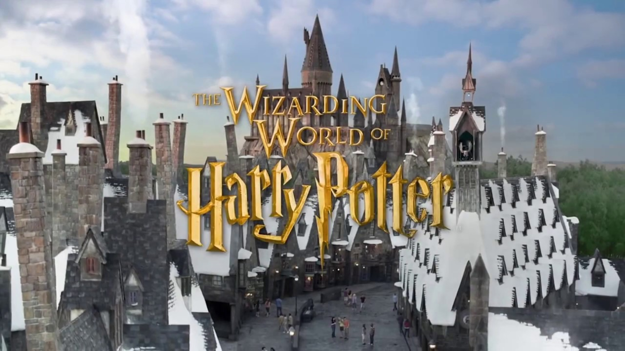 christmas at the wizarding world of harry potter in universal studios hollywood tour america
