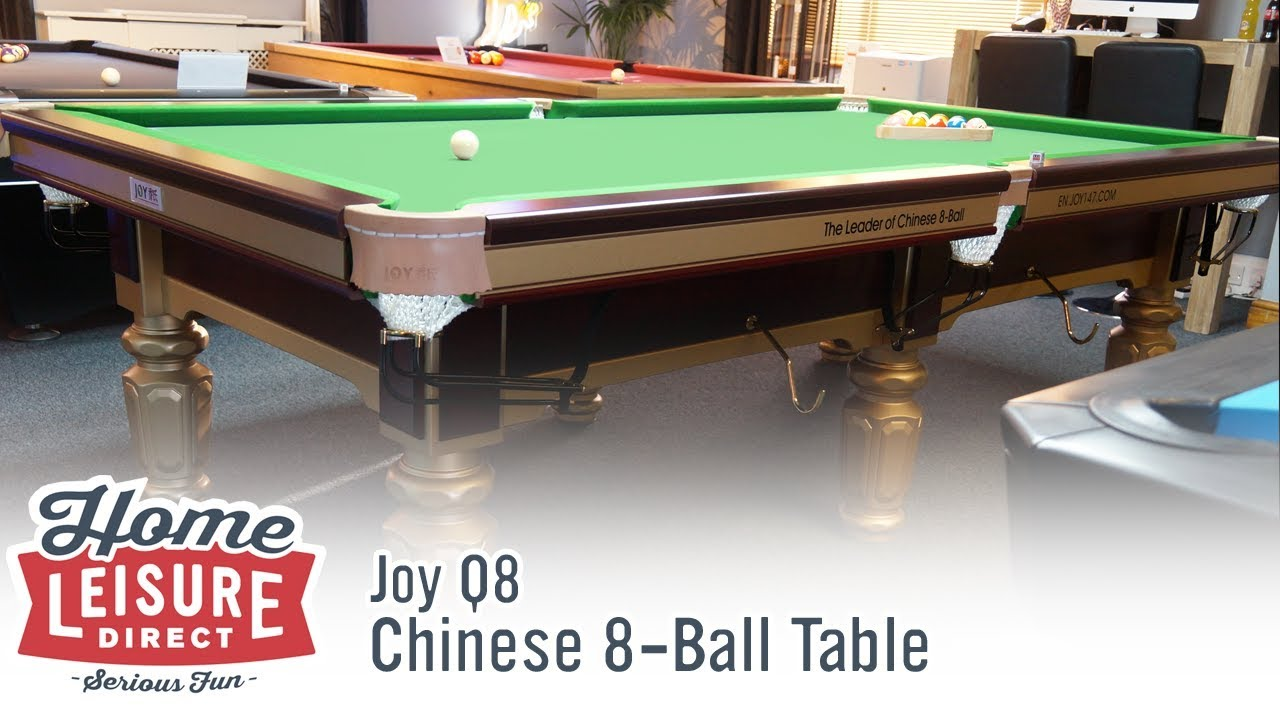 Joy Q Chinese Ball Table YouTube - Chinese pool table