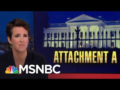 FBI Sought 'Papers Of The President' In Michael Cohen Searches   Rachel Maddow   MSNBC