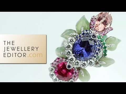 Fabergé jewellery exclusive: a Secret Garden of coloured gemstones