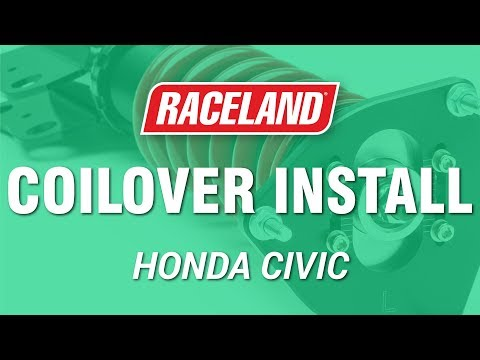 How To Install Honda Civic Coilovers (2016+)