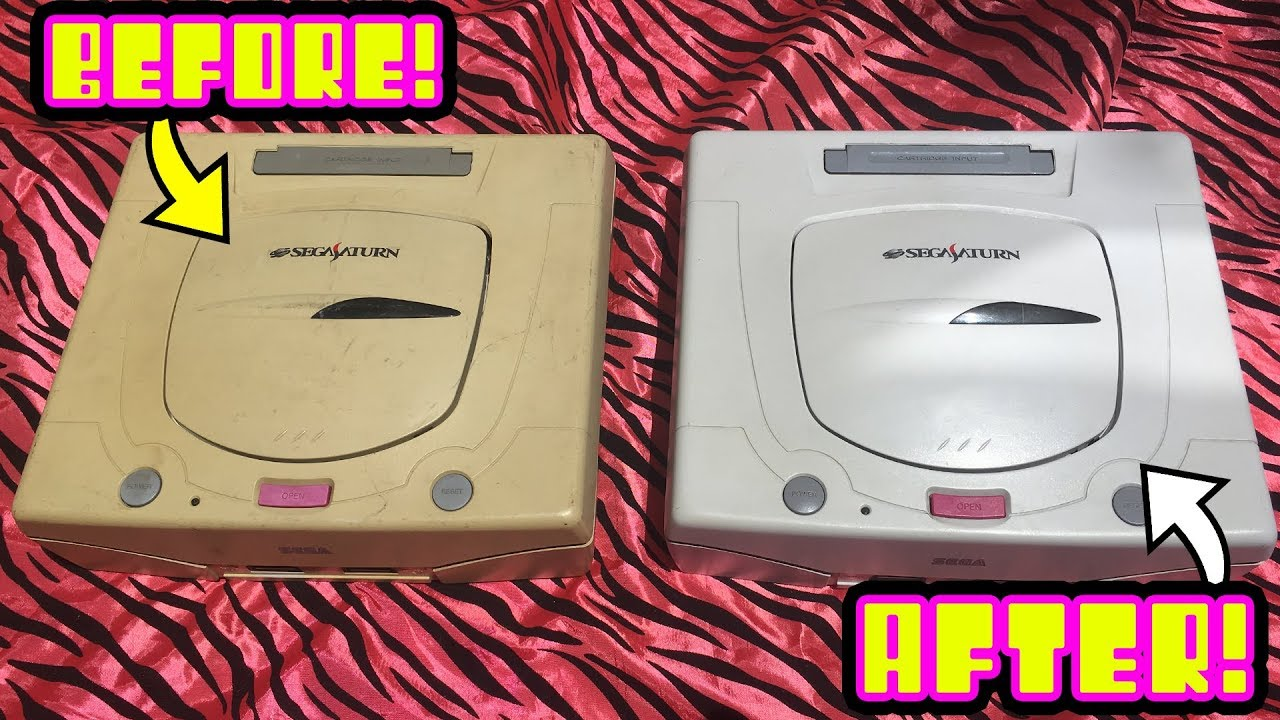 How to remove Yellowing From Consoles / Computers! Retr0bright Uv Box +  Salon Care 40