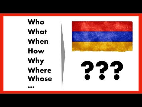 Учить армянский: как задавать вопросы на армянском?