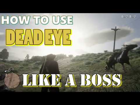 Red Dead Redemption 2 | How to use Dead Eye | Easy & Simple Tutorials